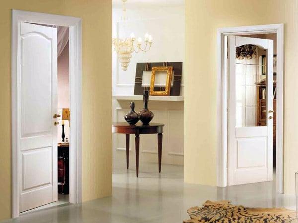 Porte classiche modena porte interne in legno massello for Porte scorrevoli in vetro garofoli